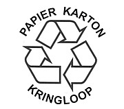 Recycling papier logo